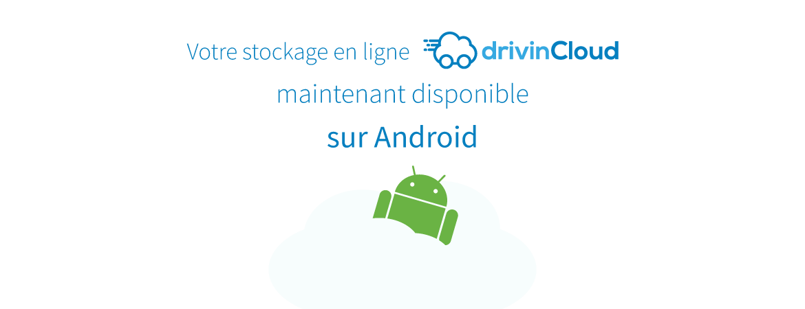 Application drivinCloud disponible
