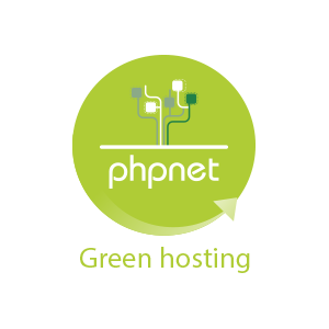 PHPNET Green hosting
